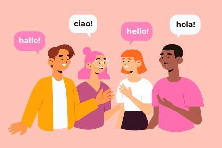 Hỗ trợ đa ngôn ngữ Olymp Trade