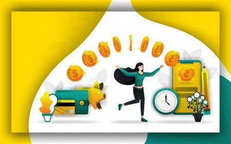 Cách rút và gửi tiền trong Olymp Trade
